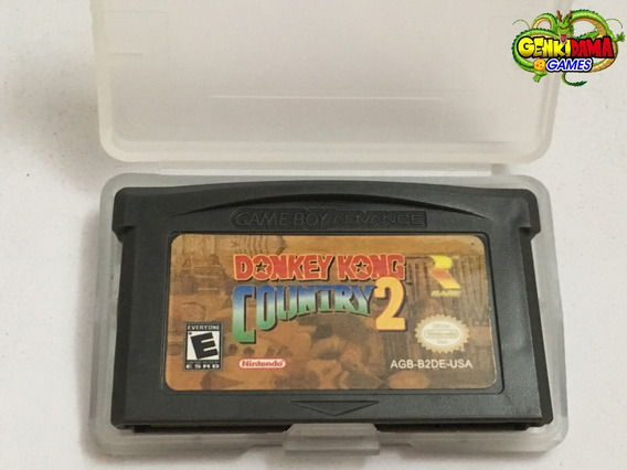 Donkey Kong Country 2 Game Boy Advance Gba Nintendo Ds