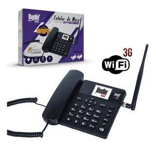 Celular De Mesa Bedin Sat 5 Bandas 3g Wi-fi Roteador