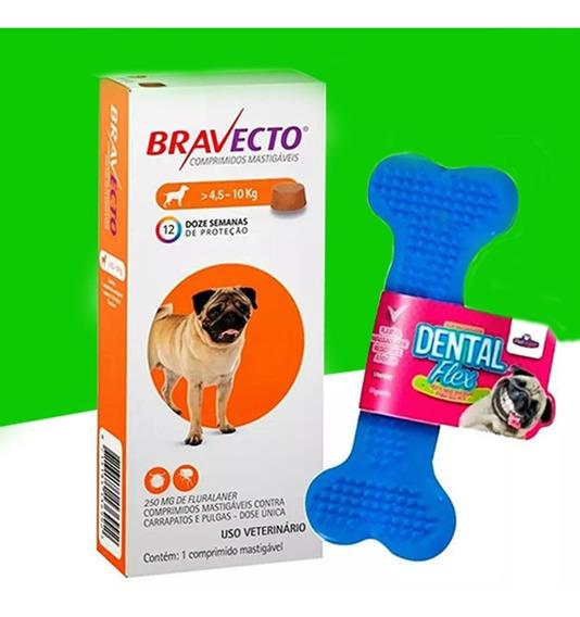 Bravecto De 4,5 A 10 Kg + Brinde Ossinho