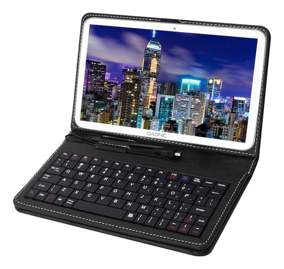 Tablet Pc Gadnic 10 Android 1gb + Hot Sale + Funda Teclado