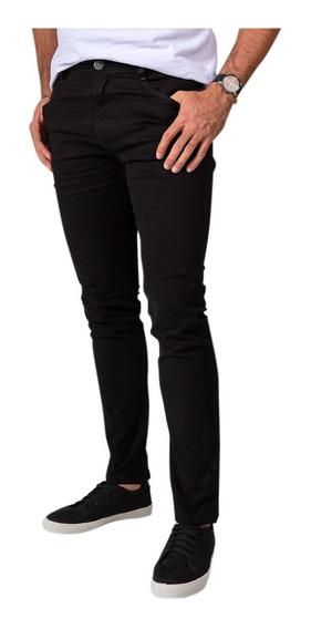 Calça Jeans Sarja Masculina Skinny Slim Calcas Com Lycra