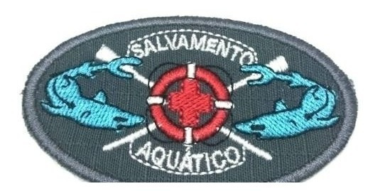 Patch / Bordado Termocolante - Salvamento Aquático