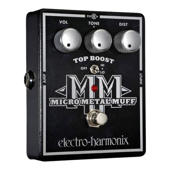 Pedal Electro-harmonix Micro Metal Muff Distortion With Top
