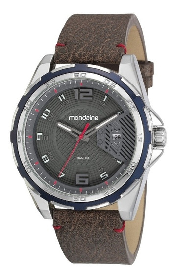 Relógio Mondaine Masculino Prateado 53754g0mvnh1