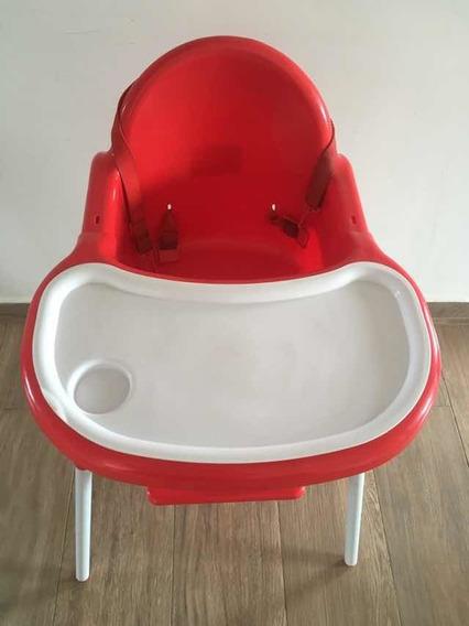 Silla Para Comer Bebé Plástica Intipunco 2 En 1 Desmontable