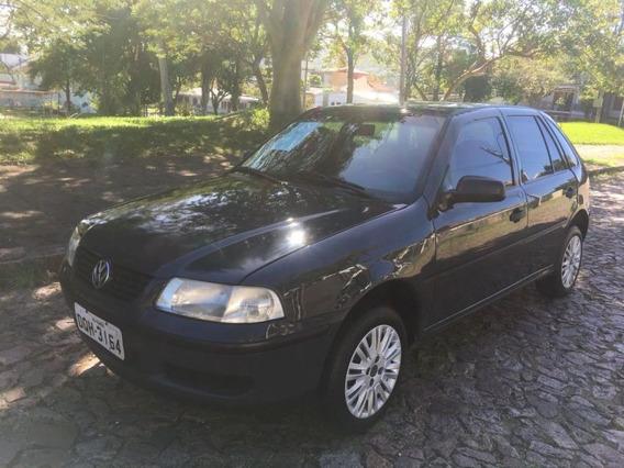 Volkswagen Gol 1.6 8v City 2005 Cinza Flex