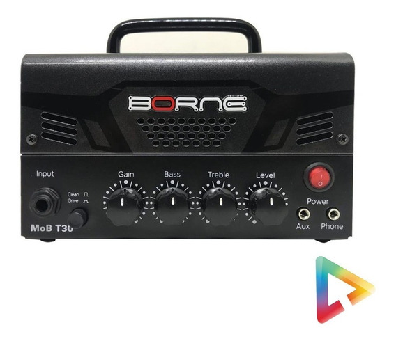 Mini Cabeçote Amplificador Borne Mob T30 30w - Hl Infomusic