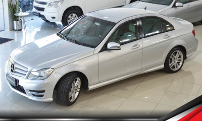 Mercedes C180 Sport Cgi 1.6 Turbo Impecável Top Lacrada