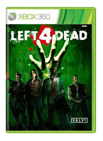 Left 4 Dead Xbox 360 Mídia Física Pronta Entrega