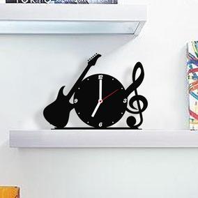 Relógio De Mesa, Baixo, Guitarra - Frete Grátis
