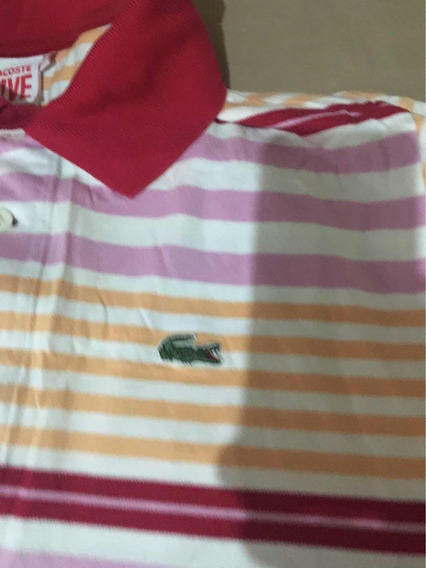 Camisa Polo Lacoste N. 8