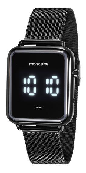 Relógio Mondaine Digital Preto Unissex 32151gpmvpe1