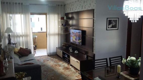 Apartamento Com 3 Dormitórios À Venda, 108 M² - Jardim Aquarius - São José Dos Campos/sp - Ap2946