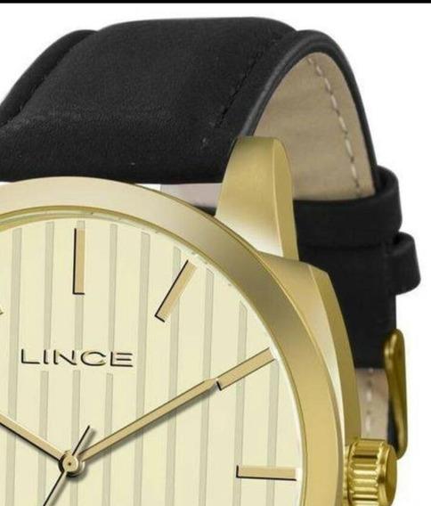 Relógio Masculino Lince Mrc4462s Analógico Quartz Social