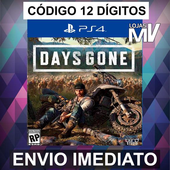 Days Gone Ps4 - Código De 12 Digitos