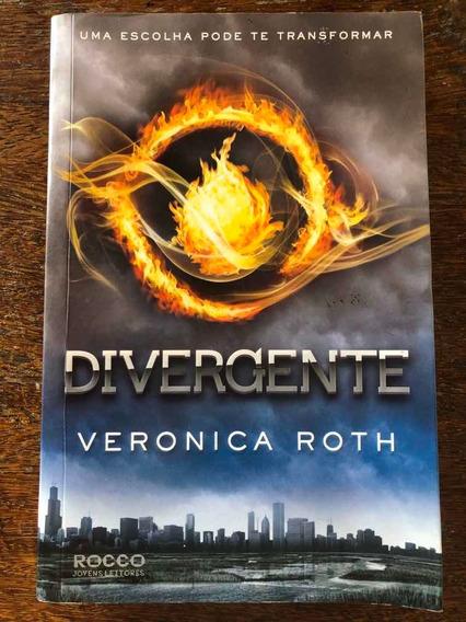 Livro Divergente - Vol 1 Uma Escolha Pode Te Transformar
