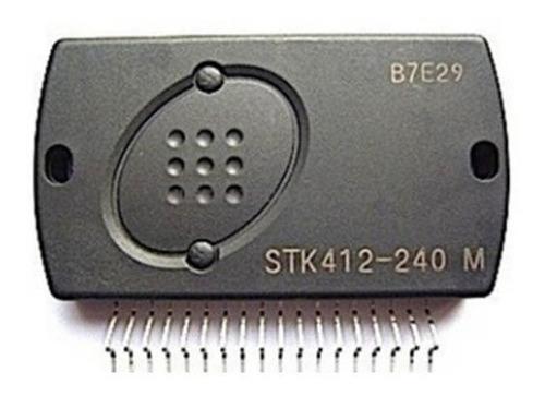 Stk412-240  Stk412-240m  Ic Amp  Orig Sanyo Ut
