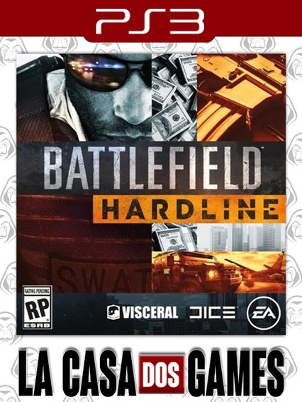 Battlefield Hardline - Psn Ps3 - Português - Pronta Entrega