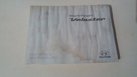 Manual Do Proprietário Hyundai Veloster