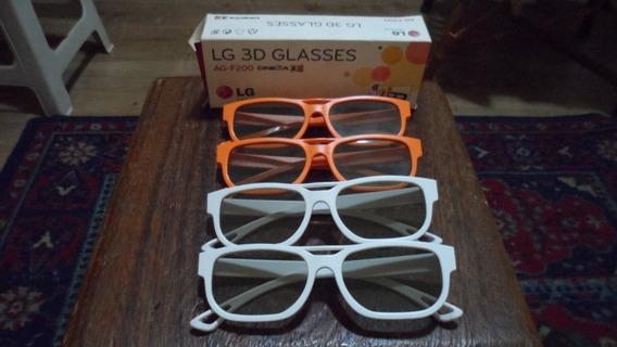 Oculos 3d - Lg - Ag-f200 - Cinema 3d