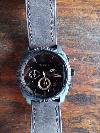 Relógio Fossil Fs4656/ Couro Marrom