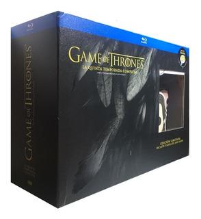 Game Of Thrones Juego Tronos Temporada 5 Blu-ray + Funko