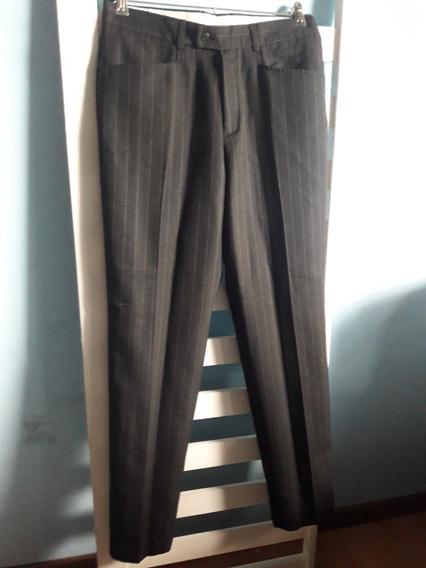 Pantalon Recto De Vestir Talle 40