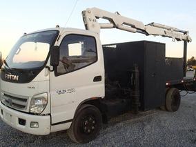 11) Camion Foton Con Grua National De 4.5 Ton