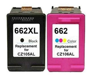 Cartuchos 662xl Preto + Color