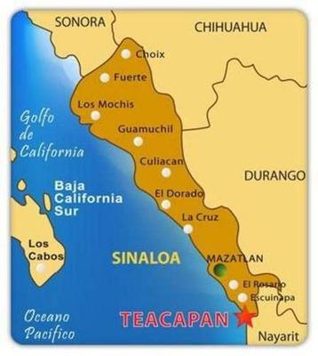 Terreno En Fraccionamiento 4 Surcos Frente Al Mar En La Bahía De Teacapán