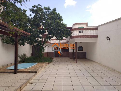 Sobrado Com 2 Dormitórios À Venda, 250 M² Por R$ 790.000,00 - Vila Barros - Guarulhos/sp - So0773
