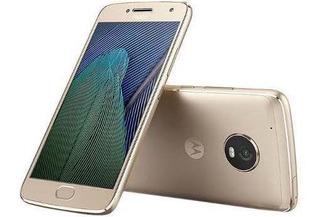 Motorola Moto G5 Plus Xt1680 32gb Muy Bueno Dorado Liberado