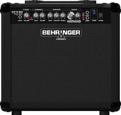 Amplificador De Guitarra Behringer Gtx30 30w