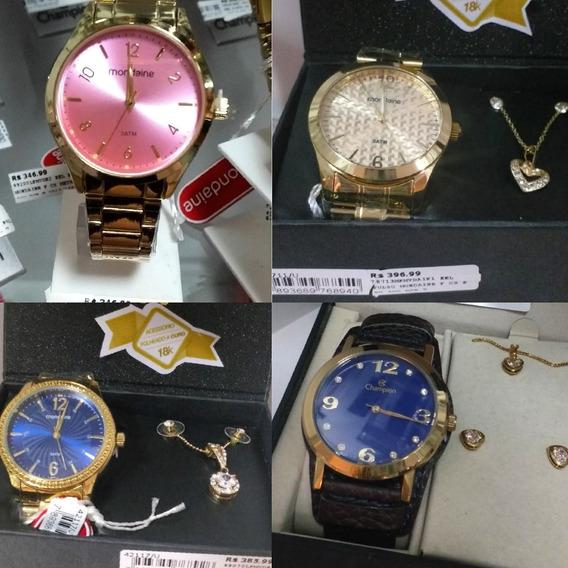 Relógio Original Com Garantia De Um Ano