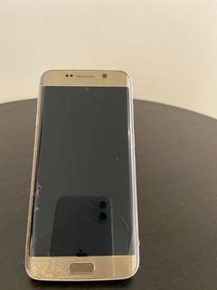 Celular Samsung Galaxy S6 Edge - Dorado - Refacciones