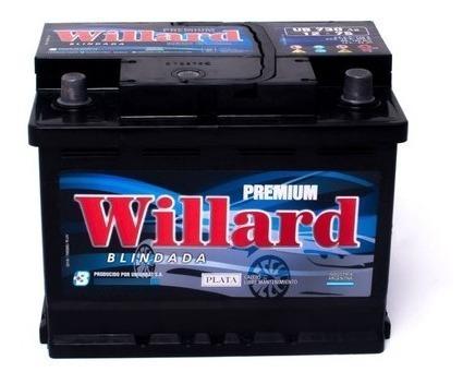 Imagen 1 de 2 de Bateria Willard 75 Amperes 12v Calcio Plata Blindada