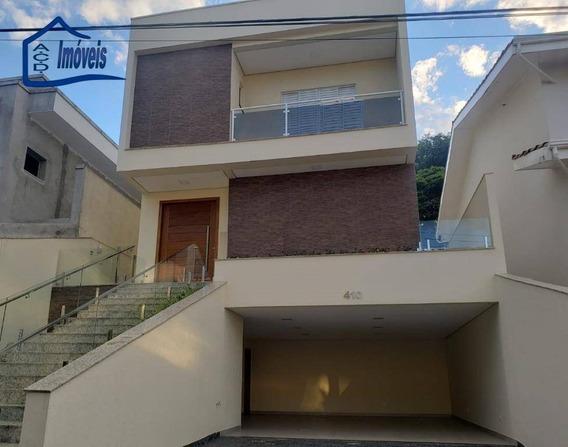 Sobrado Com 3 Dormitórios À Venda, 280 M² Por R$ 1.500.000,00 - Caputera - Arujá/sp - So0149