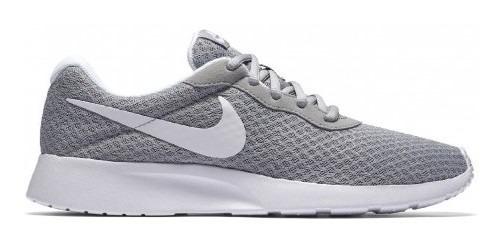 Tenis Nike 812655 010 Wolf Grey/white Wmns Nike Tanjun 22-2