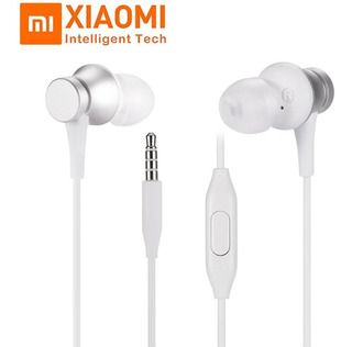 Auriculares Audifonos Xiaomi Piston Mi In Ear Basic Blanco