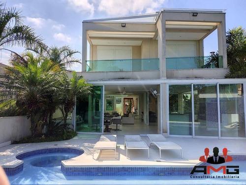 Imagem 1 de 29 de Casa Com 5 Dormitórios À Venda, 470 M² Por R$ 7.800.000,00 - Riviera - Módulo 5 - Bertioga/sp - Ca0152