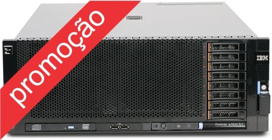 Servidor Ibm X3950 X5 Seminovo Octa-core 128gb