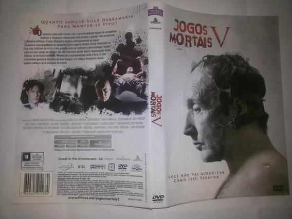 Dvd Suspense Jogos Mortais Pacote 5 Filmes Frete Grátis Bras