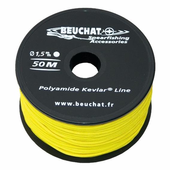 Linea Nylon Kevlar 1.5mm Para Arpones Beuchat (por Metro)