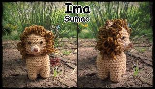 Leon Amigurumi Crochet Artesanal