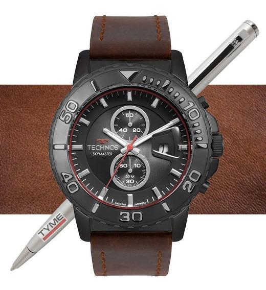 Relógio Technos Masculino Skymaster Os11eb/2p C/ Nota Fiscal