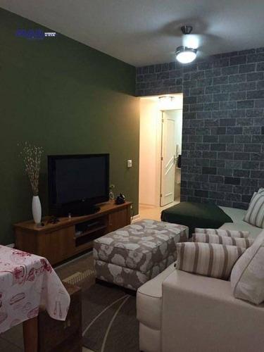 Imagem 1 de 9 de Apartamento Residencial À Venda, Vila Luis Antônio, Guarujá - . - Ap9050