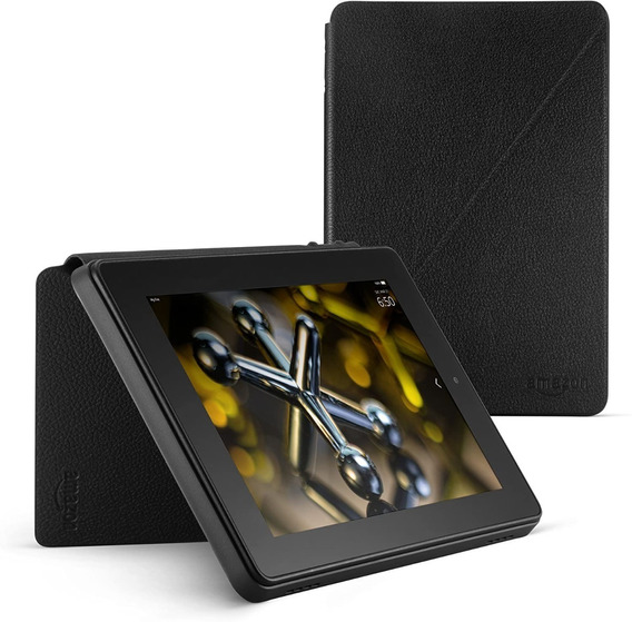 Kit Amazon Fire Hd 7 (tela Hd) 16gb + Case Original De Couro