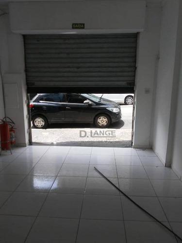 Salão Para Alugar, 70 M² Por R$ 2.100,00/mês - Centro - Campinas/sp - Sl0100