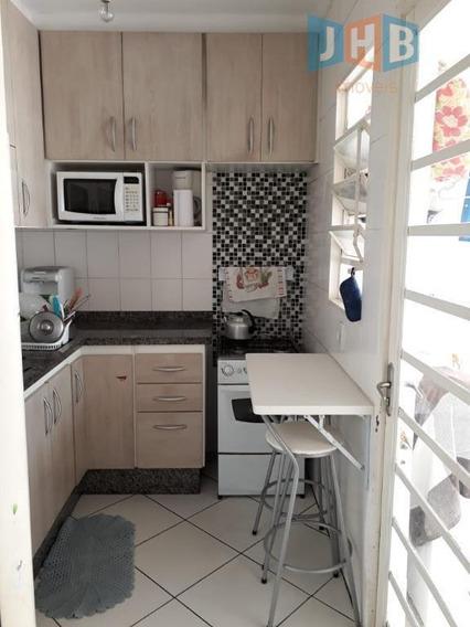 Sobrado Com 3 Dormitórios À Venda, 74 M² Por R$ 279.000 - Parque Dos Ipês - São José Dos Campos/sp - So0559