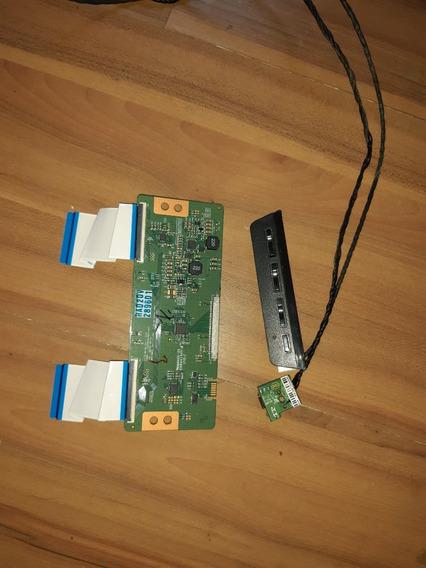 Placa. De Funções + Sensor Ir + Tcom Tv. (sti) Mod. Dl-3270